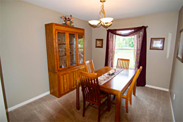 Real Estate photo of home dining room by Aerotech Photography September 2019